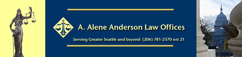 A. Alene Anderson Lawyer Seattle